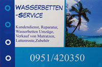 Wasserbetten Service Mathes